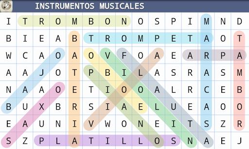 Sopa de Letras Espau00f1ol 1.2 screenshots 2
