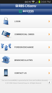 accessMOBILE by RBS Citizens - screenshot thumbnail