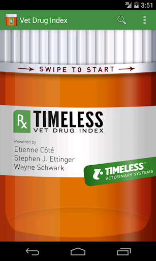 Timeless Vet Drug Index