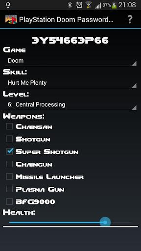 PSX Doom Password Generator