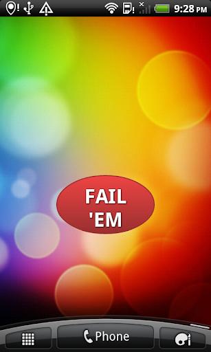 免費娛樂App|The Failure Button|阿達玩APP
