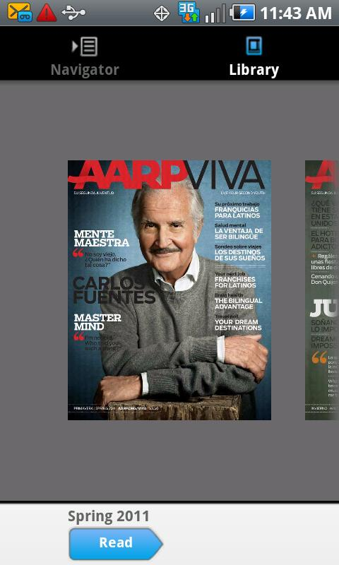 AARP Viva - screenshot
