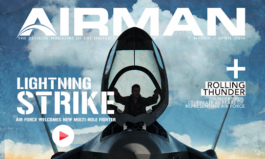 AIRMAN Magazine - screenshot thumbnail