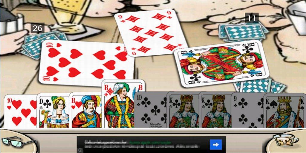 Doppelkopf am Stammtisch Free - screenshot