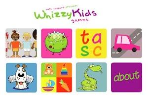 Screenshot of Whizzy Kids