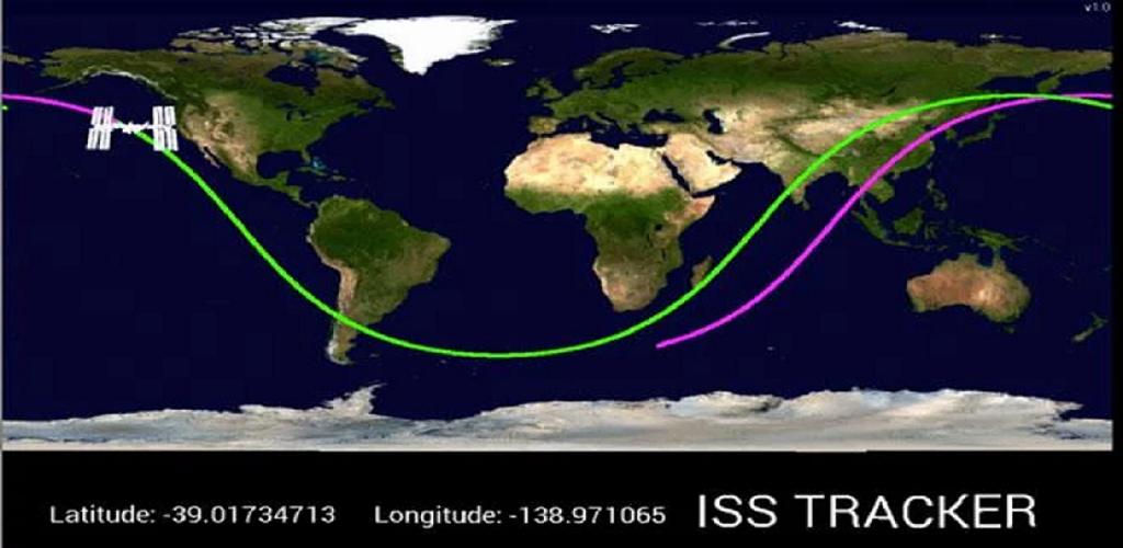 international space station tracker - 1024×500