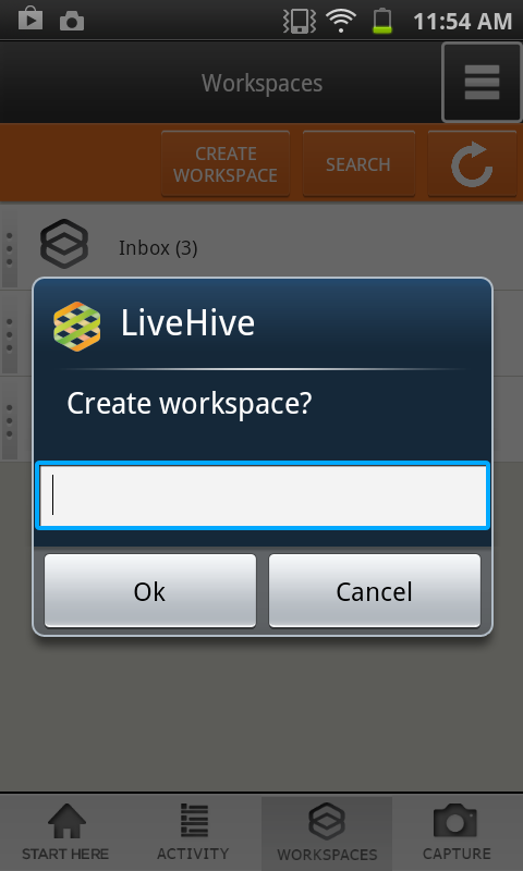LiveHive - screenshot