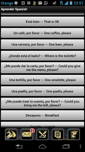 学习西班牙语