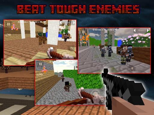 Block Gun Survival 3D