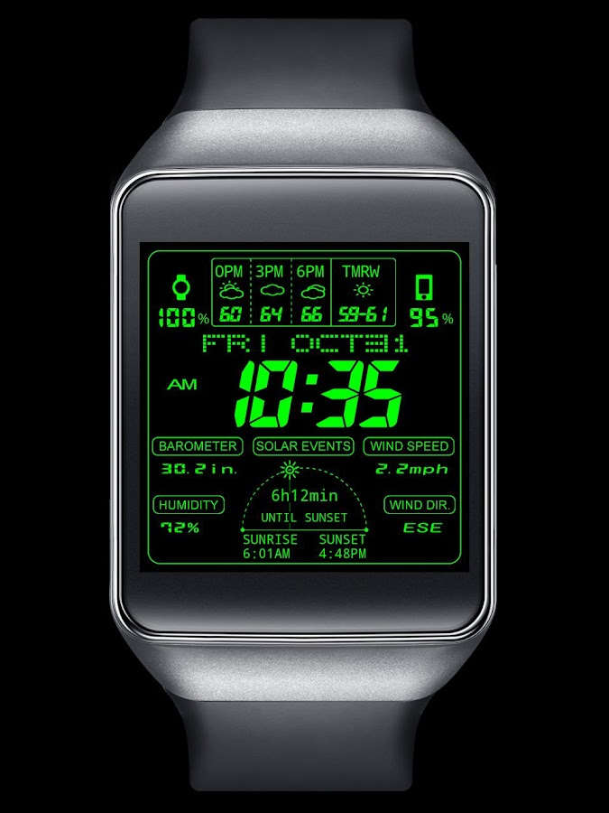F03 WatchFace for Android Wear- screenshot