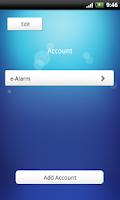 Screenshot of e-Alarm