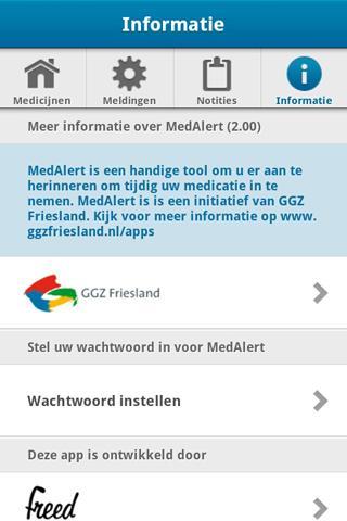 MedAlert- screenshot