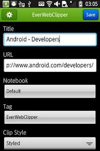 EverWebClipper for Evernote screenshot 0