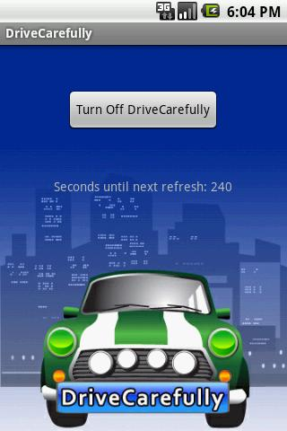 DriveCarefully - screenshot
