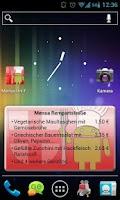 Screenshot of Mensa Freiburg