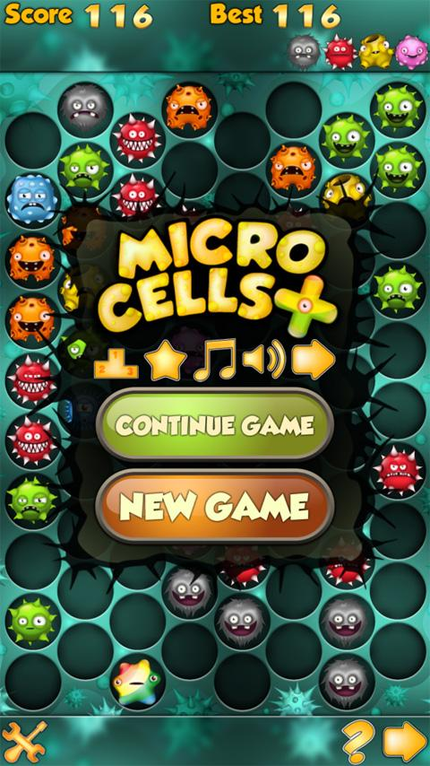 MicroCells Plus- screenshot