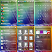 GO Widget Theme Sense 3.0