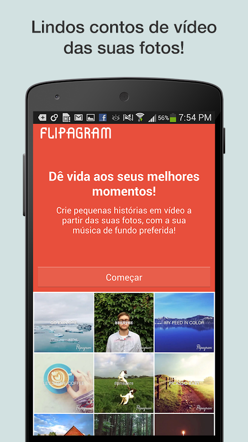 Flipagram - screenshot