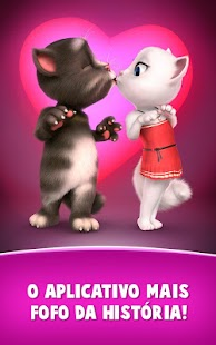 Cartas de amor do Talking Tom: miniatura da captura de tela