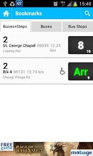 SG Buses - screenshot thumbnail