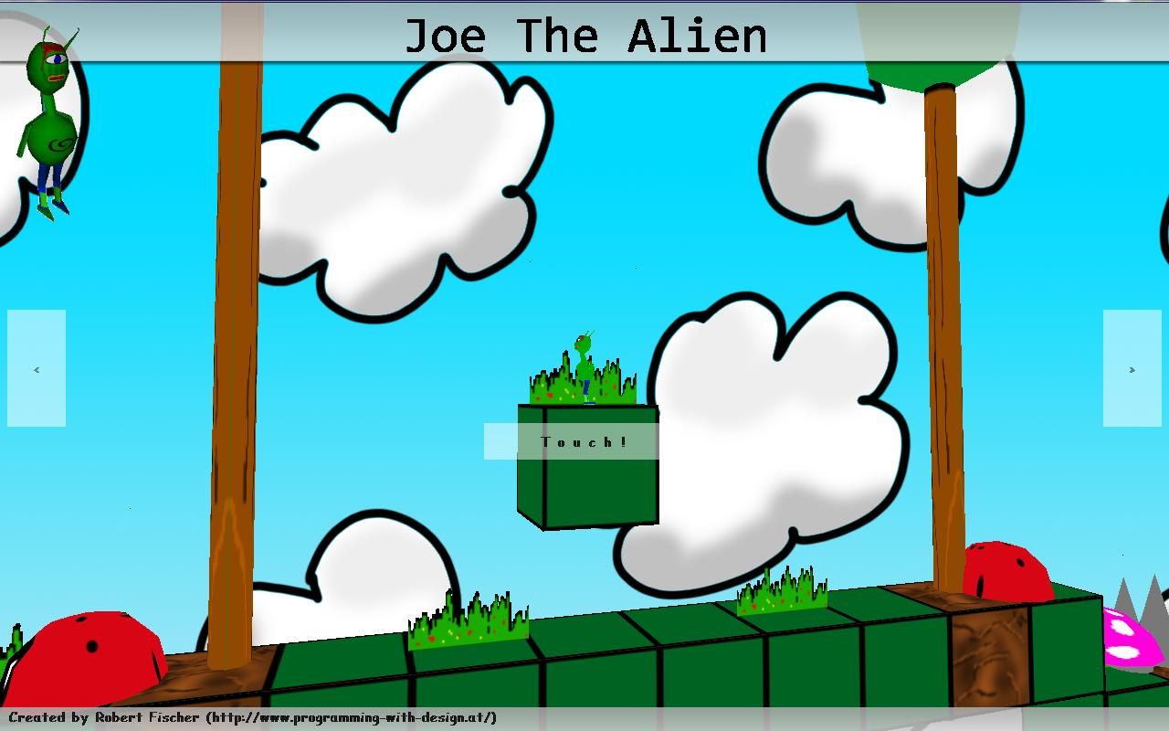 JoeTheAlien- screenshot