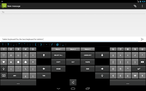 Tablet Keyboard Pro- screenshot thumbnail
