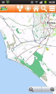 Rome Offline mappa Map - screenshot thumbnail