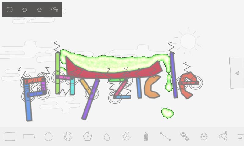 Phyzicle Sandbox - screenshot