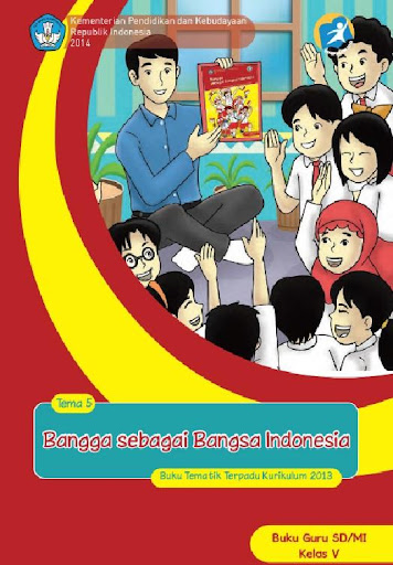 Buku Guru Kelas 5 Tema 5 Kur13