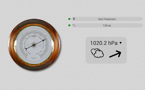 Accurate Barometer Free screenshot 2