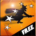 Speed Witch Halloween icon