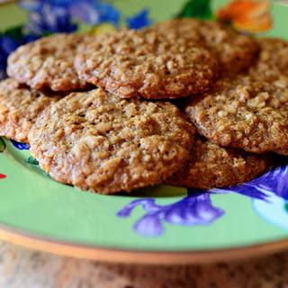 Brown Sugar Oatmeal Cookies.