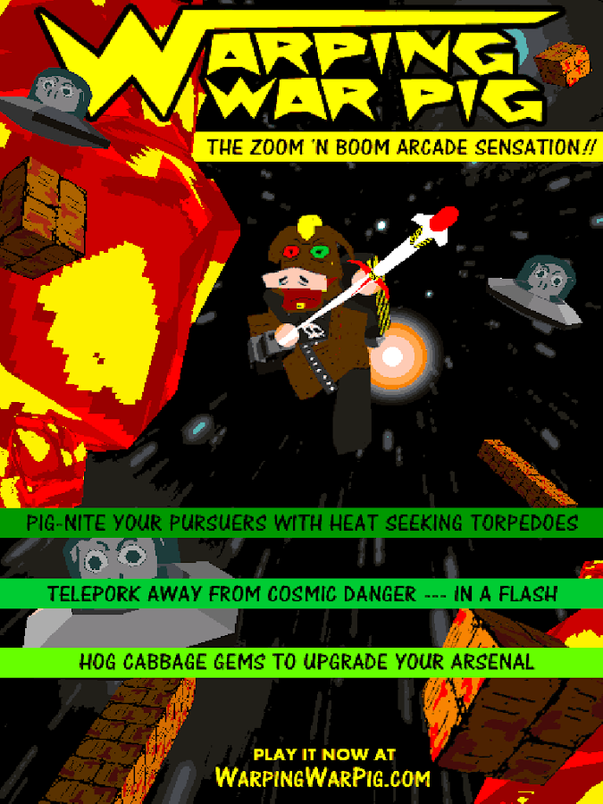 Warping War Pig- screenshot