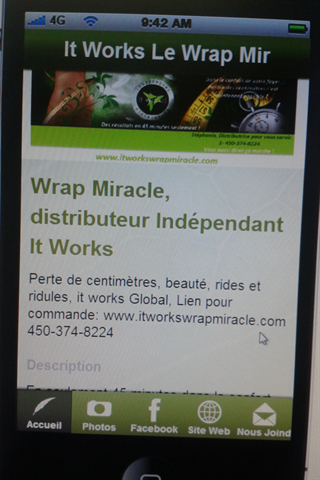 It Works Le Wrap Miracle