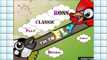 Screenshot of Tilt to Fly!