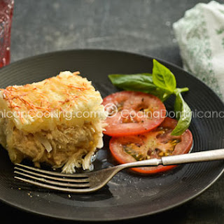 Pastelón de yuca (Cassava Casserole)