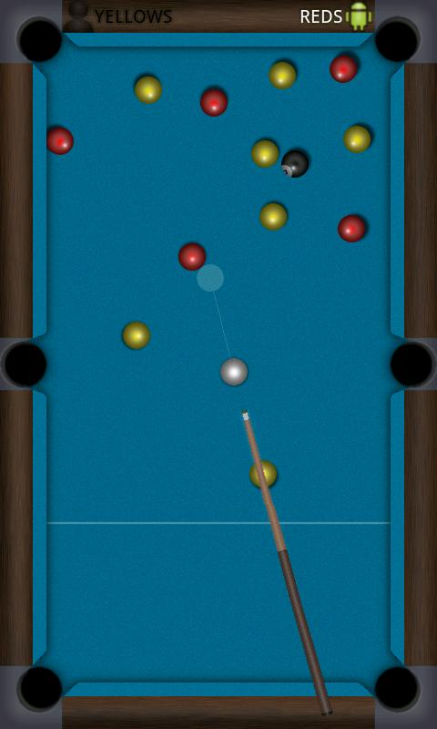 Flick Pool - screenshot