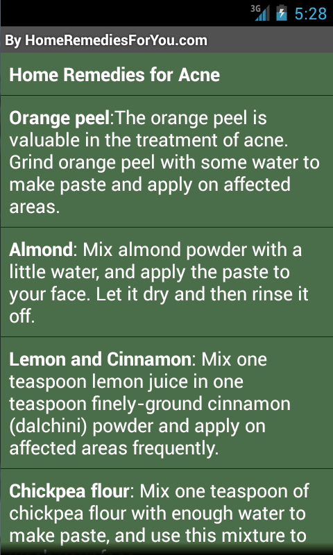 Home Remedies (Lite)- screenshot