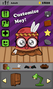 Moy 🐙 Virtual Pet Game- screenshot thumbnail