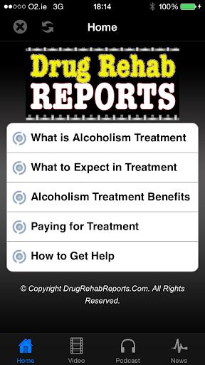 Alcoholism Treatment Report
