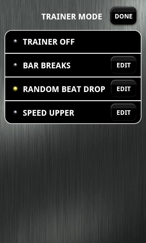 Time Trainer Metronome- screenshot