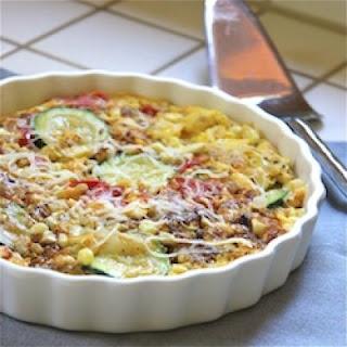 Corn, Zucchini and Roasted Tomato Frittata Recipe