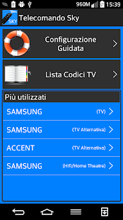 codici telecomando sky - app su google play