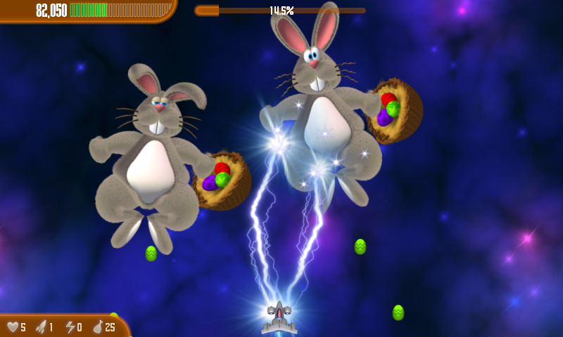 Chicken Invaders 3 Easter- screenshot