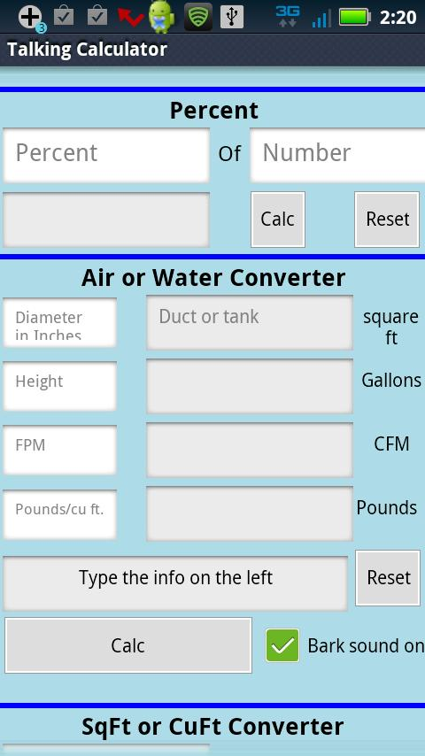Voice Controlled Calculator- screenshot