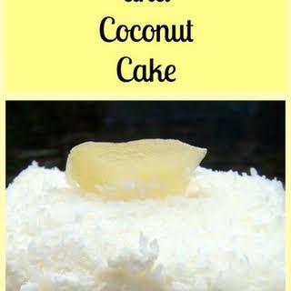 Pineapple & Coconut Cake.