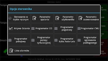 Screenshot of eSterownik Mobile