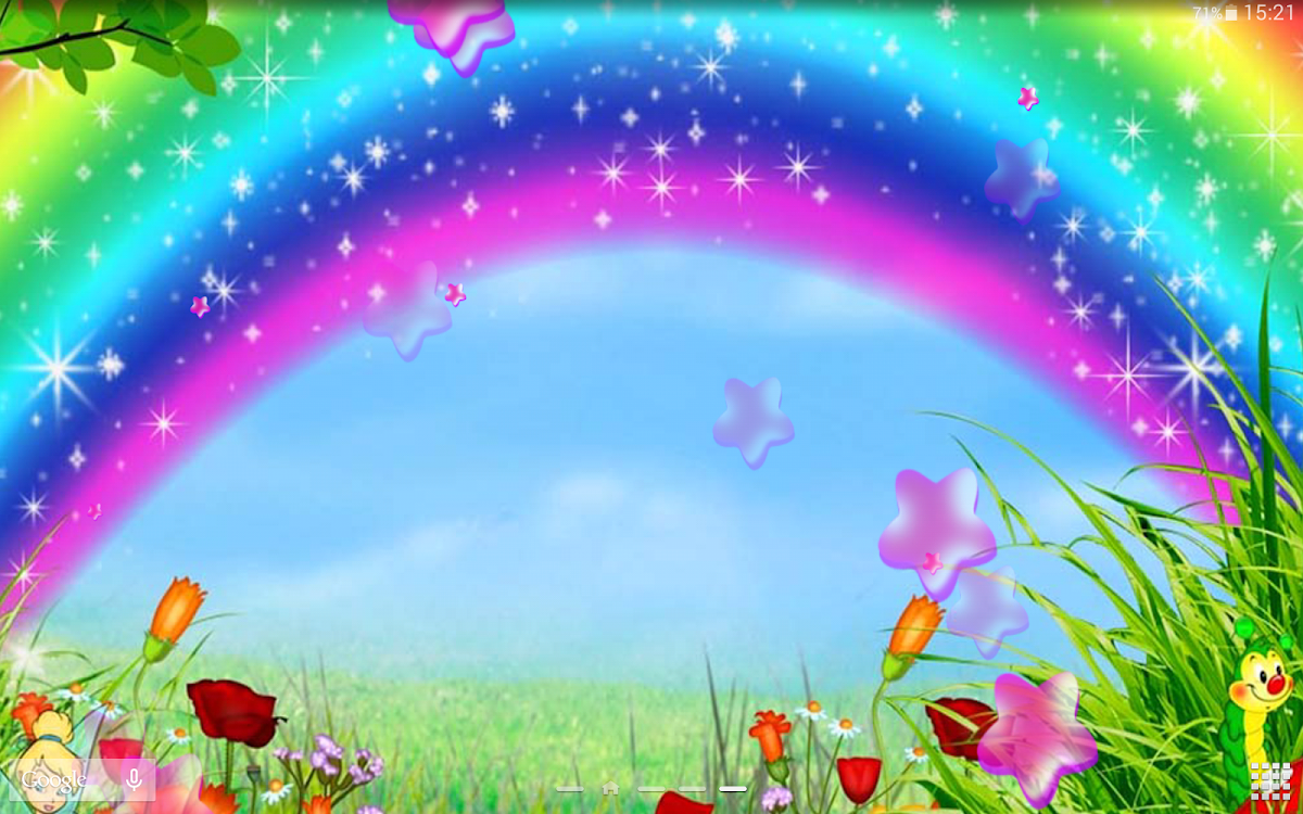 Cute Rainbow Live Wallpaper Android Apps Appagg