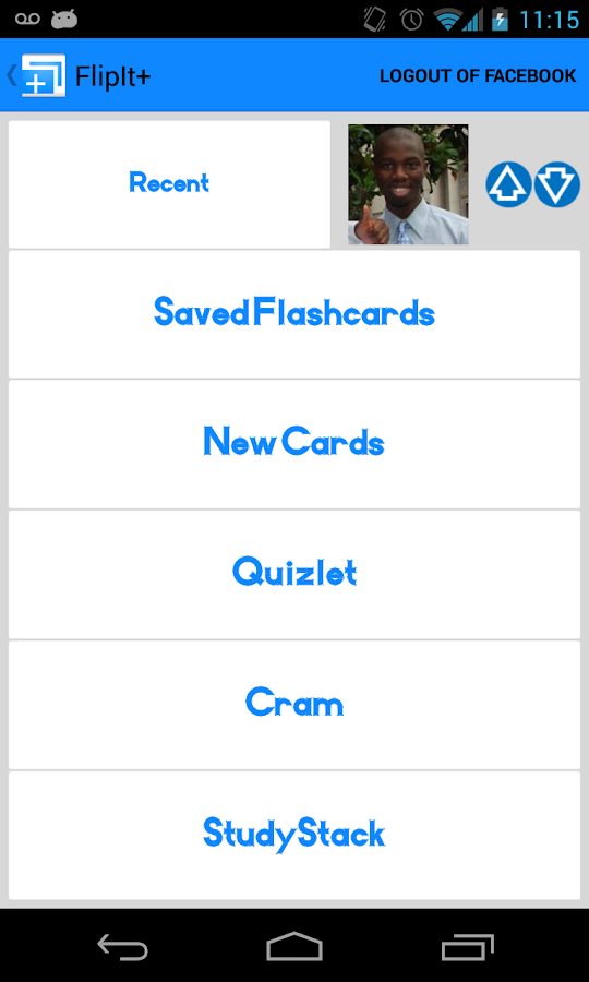 FlipIt Flashcards - screenshot
