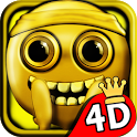 Stickman Run 4D - Gold Edition icon